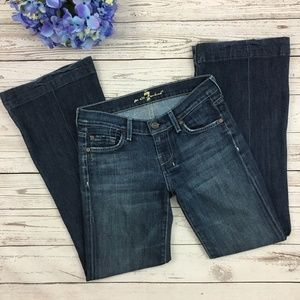 7 For All Mankind Dojo Flare Jeans Old Style